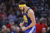 image klay thompson 3points record 52 points vs bulls