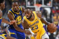 image lebron james Kevin Durant lakers warriors 2018