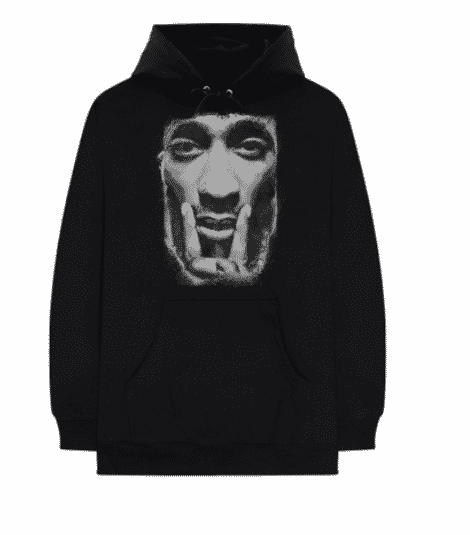 hoodie noir tupac collection greatest hits