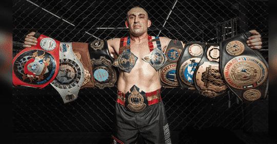 image champion boxe thai italien
