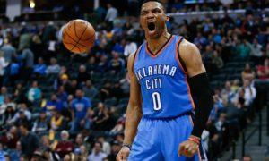 Anniversaire de Russell Westbrook : 10 minutes de frissons offerts par la NBA