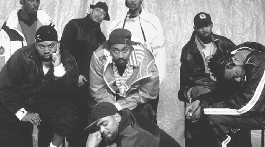 image wu tang clan old school black and white