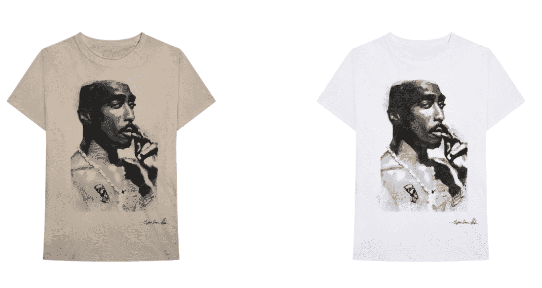 tshirt tupac collection greatest hits