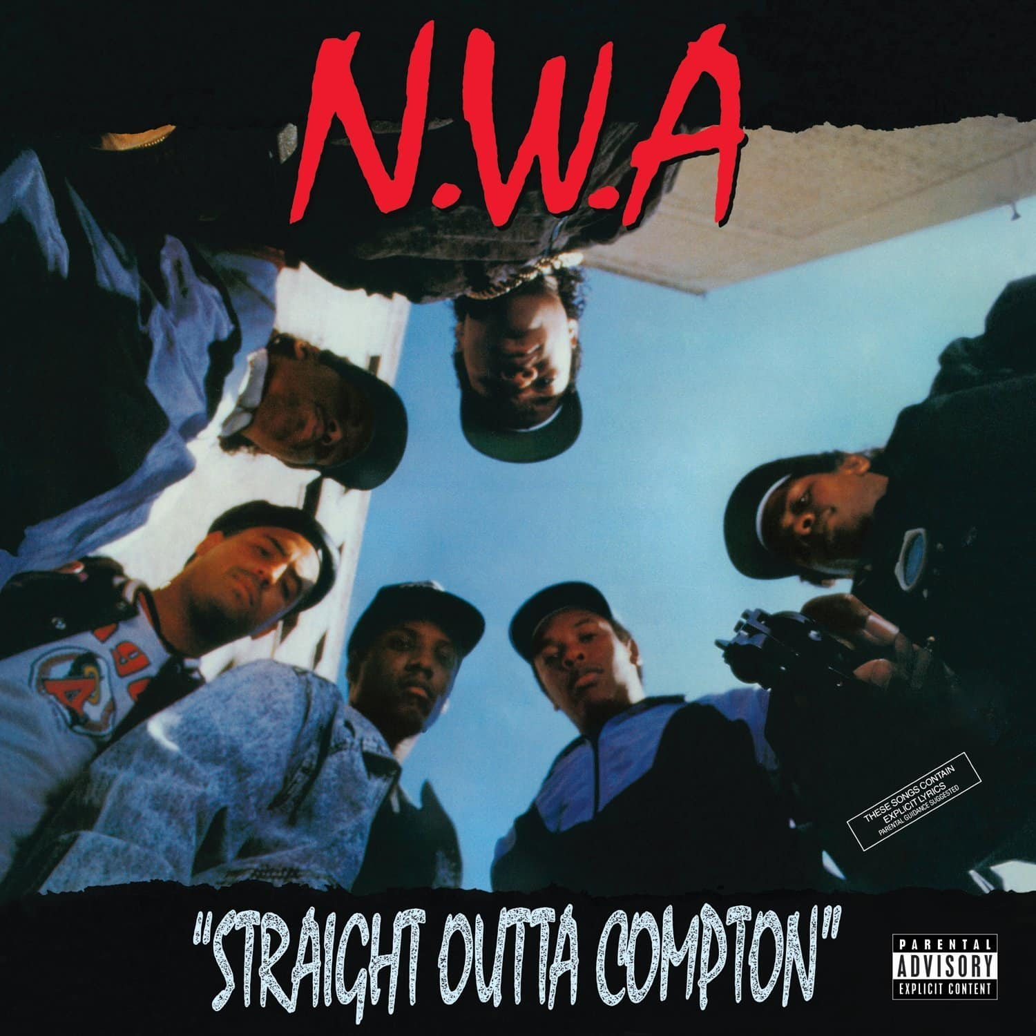 N.W.A straight outta compton cover