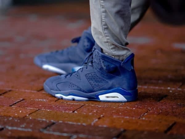 image Air-Jordan-6-Retro-Diffused-Blue-on-feet 3