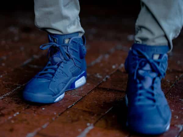 image Air-Jordan-6-Retro-Diffused-Blue-on-feet 1