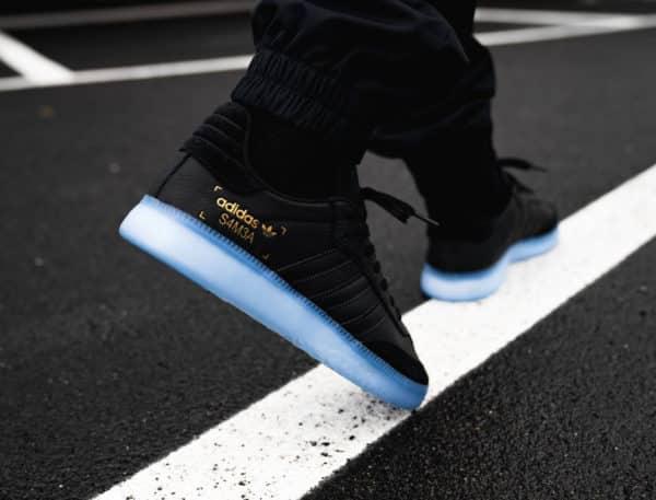 rencontrer 54396 d1b78 Image Actu sneakers Adidas samba RM boost janvier 2019   Hip ...