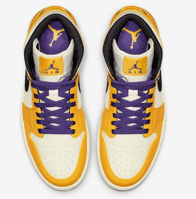image air jordan 1 mid lakers 2