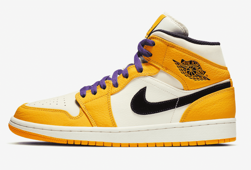 image air jordan 1 mid lakers 3