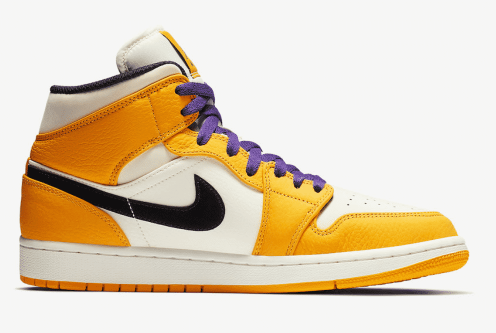 image air jordan 1 mid lakers 6