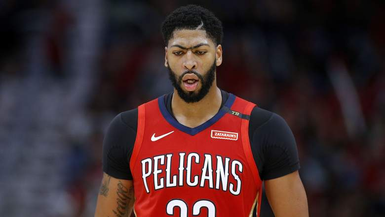 image anthony davis new orleans pelicans