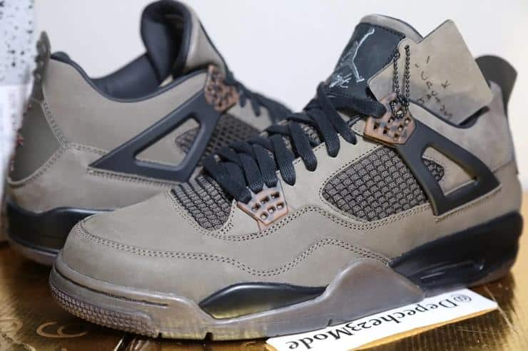 photo nike air jordan 4 travis scott 2019