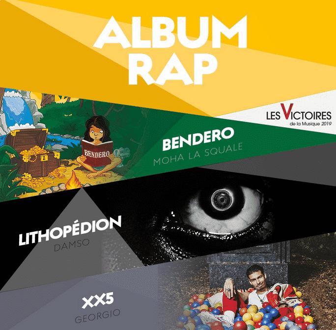 victoires de la musique 2019 rap