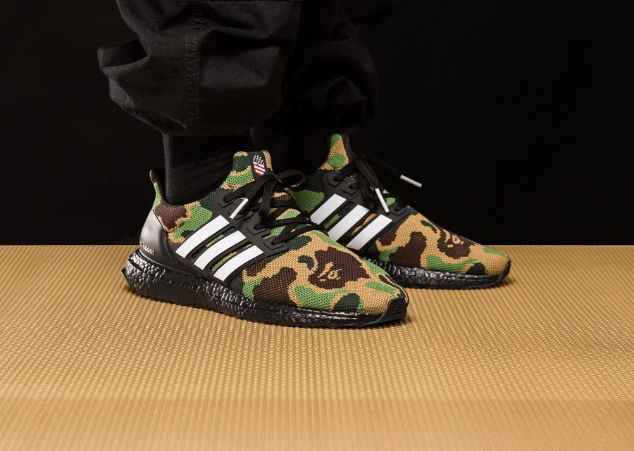 Bape x Adidas Ultra Boost Superbowl image 1