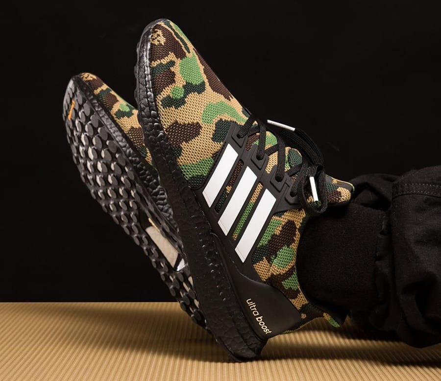 Bape x Adidas Ultra Boost Superbowl image 5