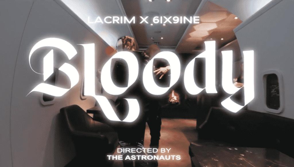 image bloody clip 6ix9ine Lacrim 7/2/19