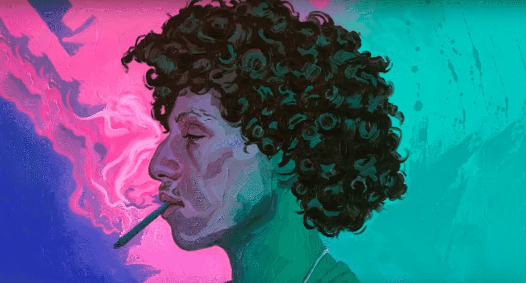 image rilès nouveau morceau marijuana 8/2/19