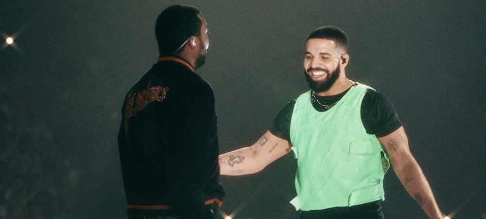 image drake meek mill clip Going Bad 7/2/19