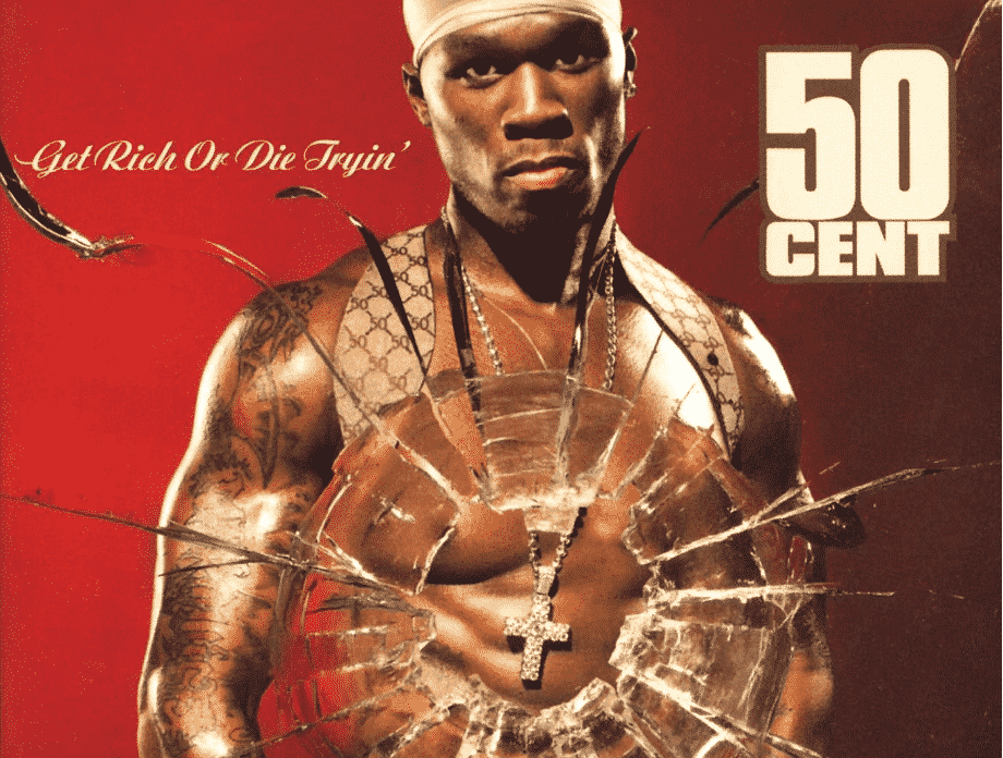 image 50 cent get rich or die tryin cover album