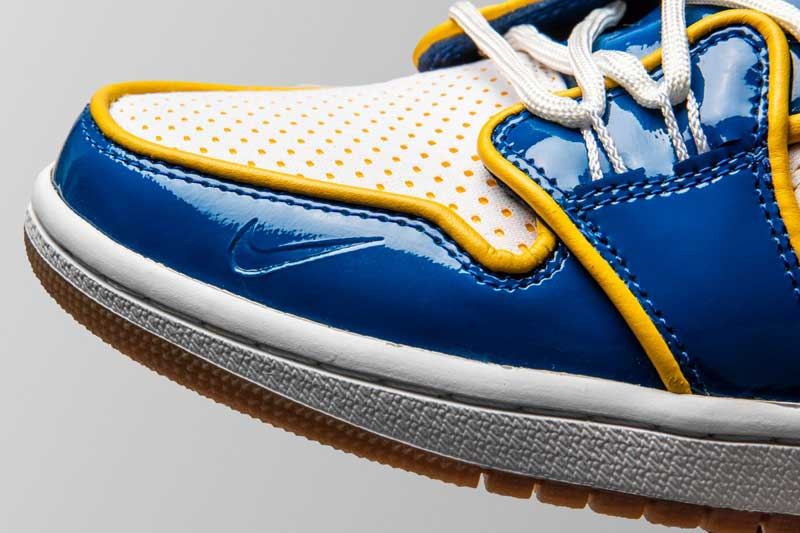 image Air Jordan 1 x Warriors 3