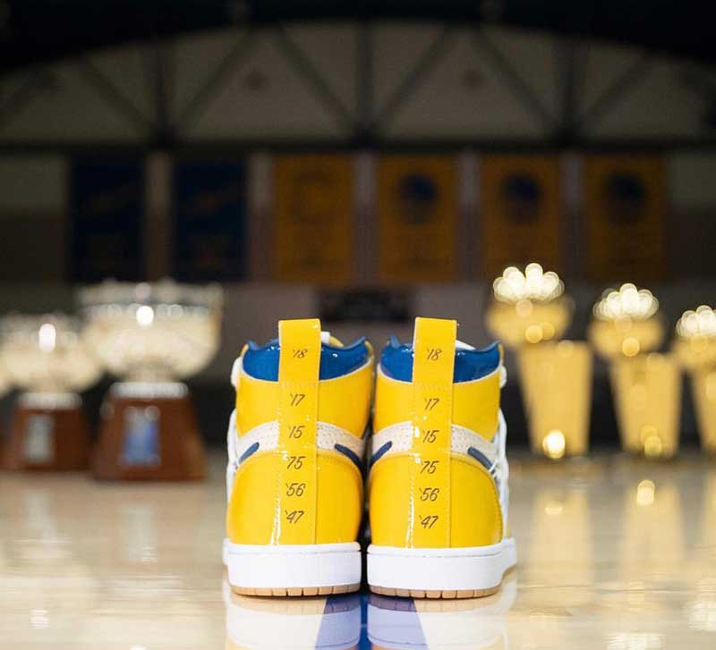 image Air Jordan 1 x Warriors 5