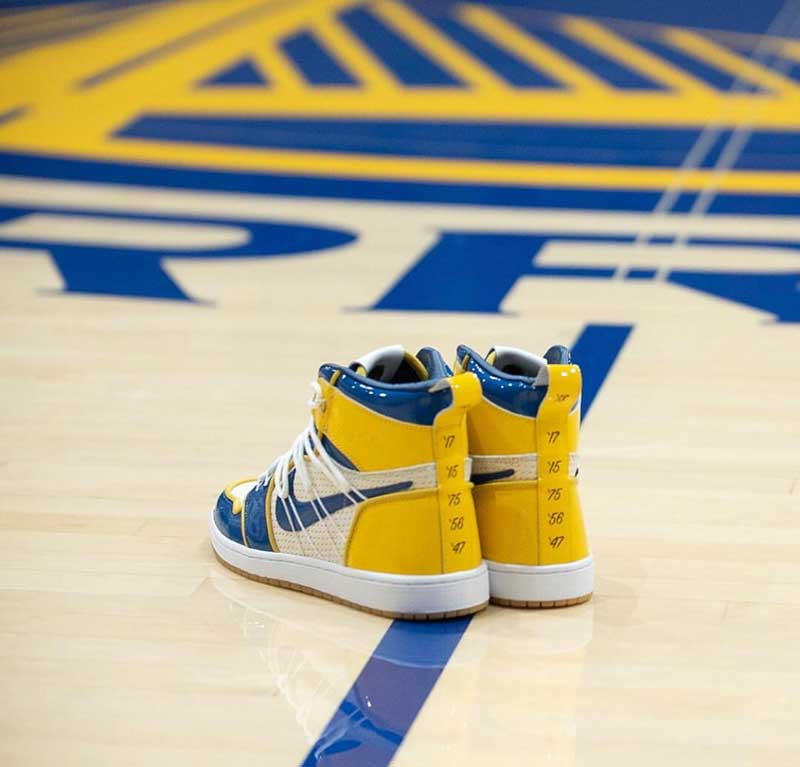 image Air Jordan 1 x Warriors 6