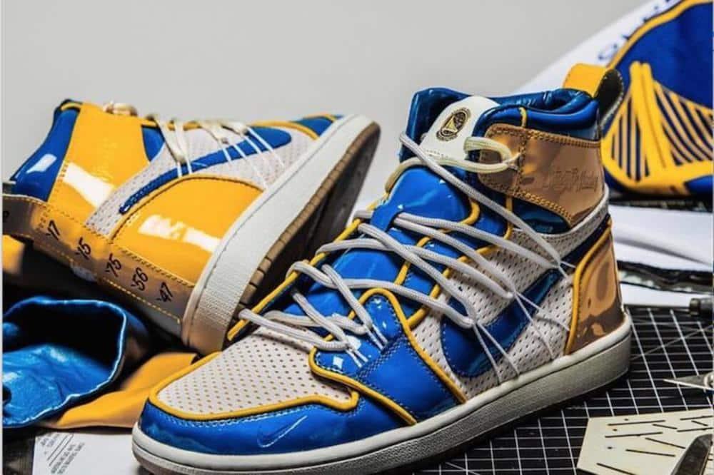 image Air Jordan 1 x Warriors 7