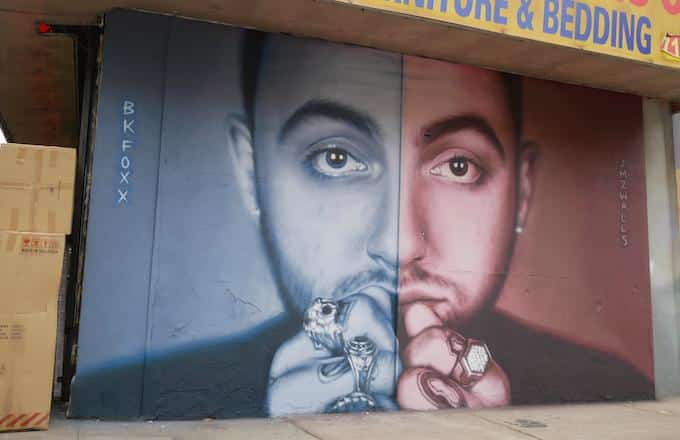 image mac miller mur brooklyn 2019