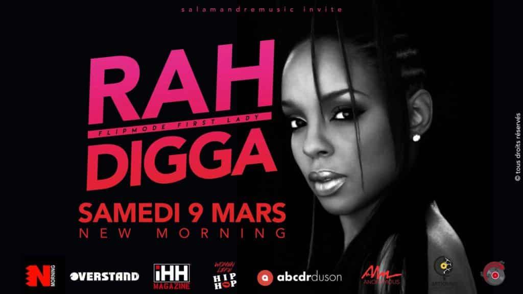 image rah digga concert paris 9 mars 1/02 2019